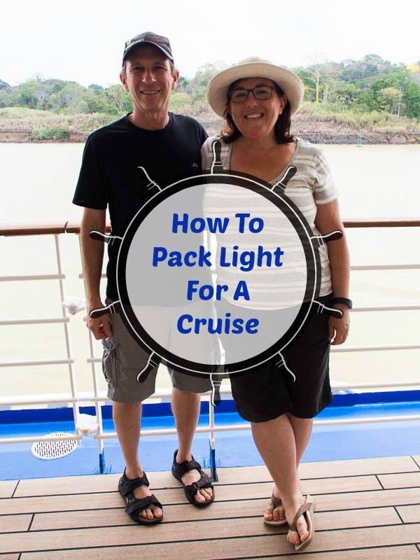 Tips to pack light for a cruise