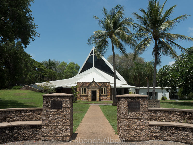 Christ Church Cathedral in Darwin Australia
