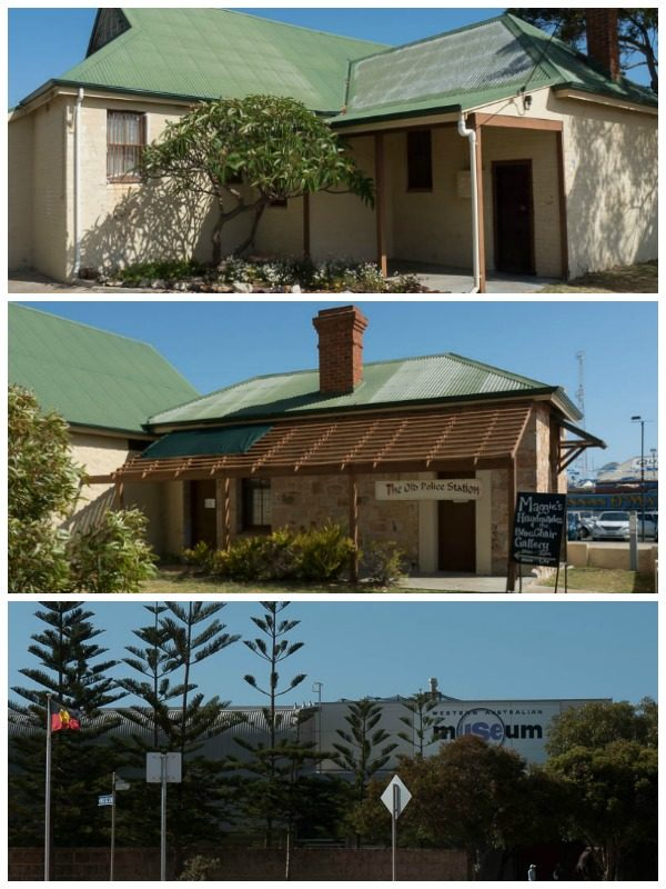 Three museums in Geraldton, Australia