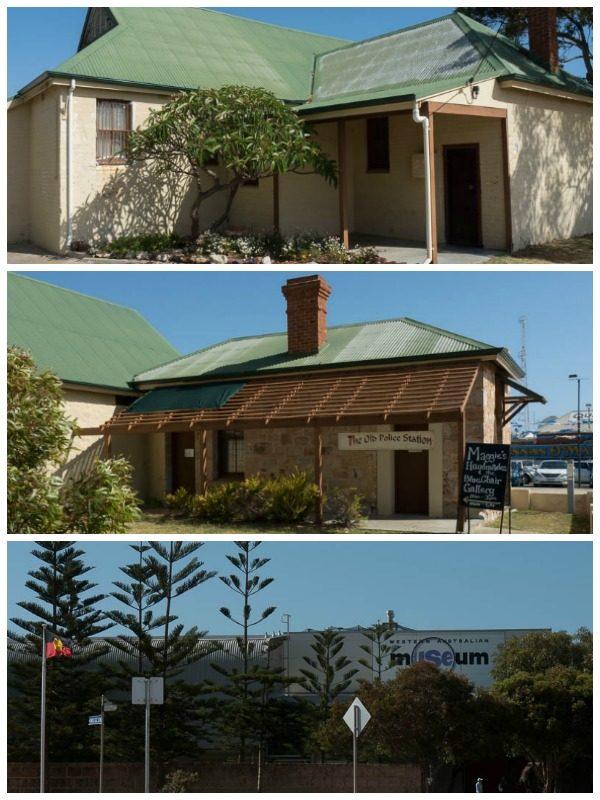 Three museums in Geraldton, Australia