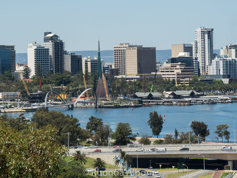 View of Perth from King's Park