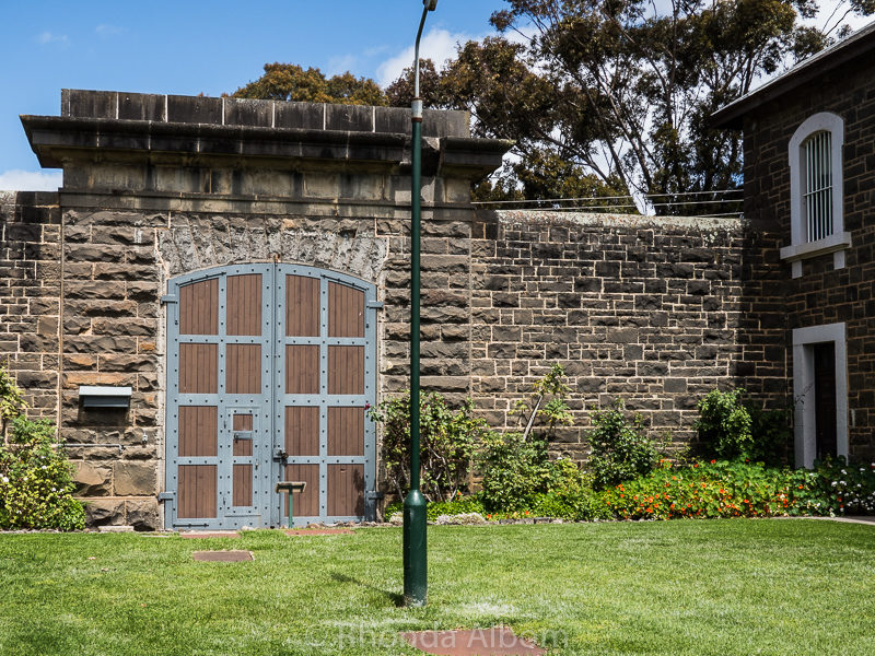 Main gate of J-Ward a lunatic asylum for the criminally insane i