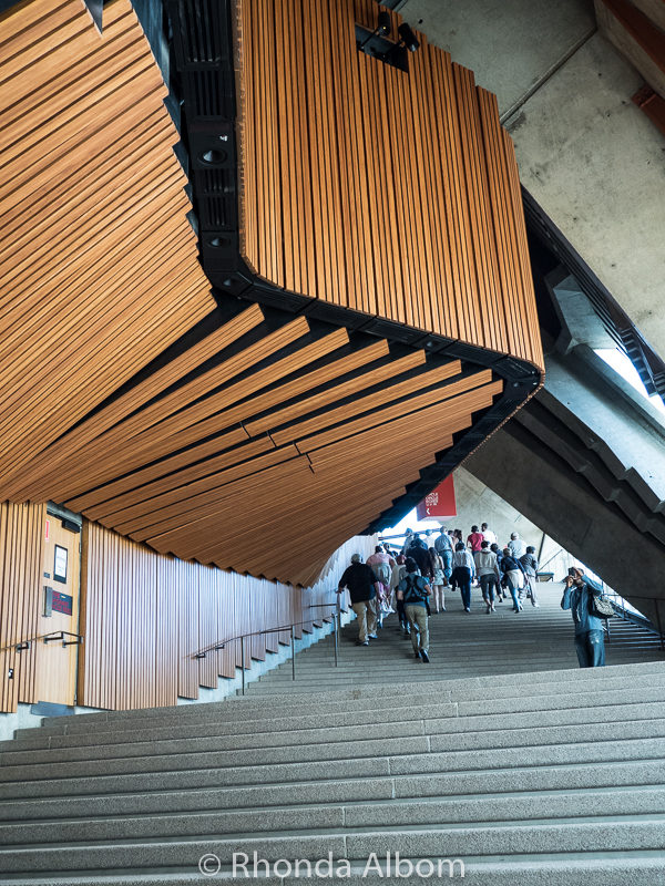 Opera House Foyer : Inside the sydney opera house touring an australian icon