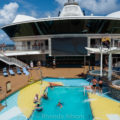 Swimming pool on the Radiance of the Seas