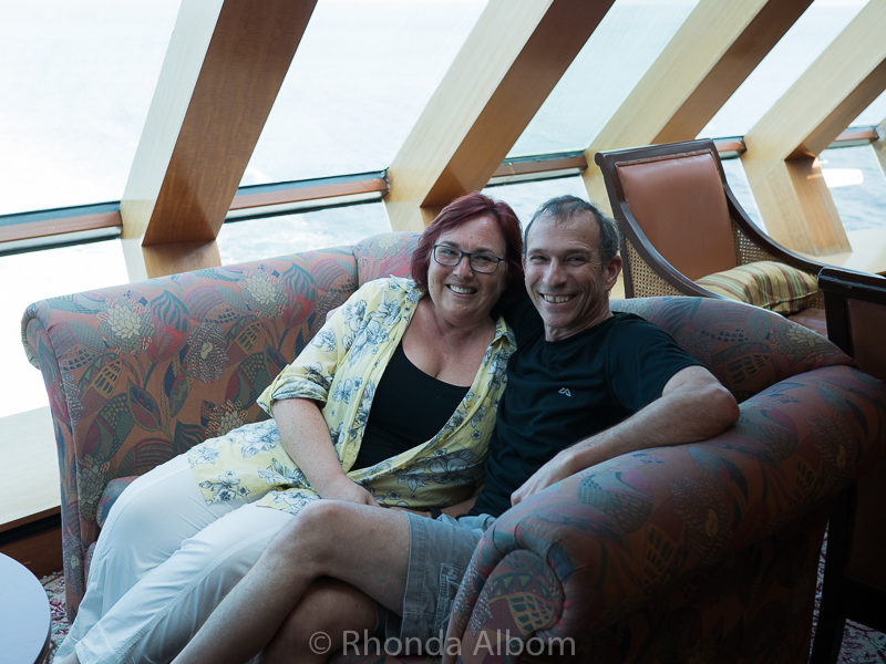 Relaxing on the Radiance of the Seas