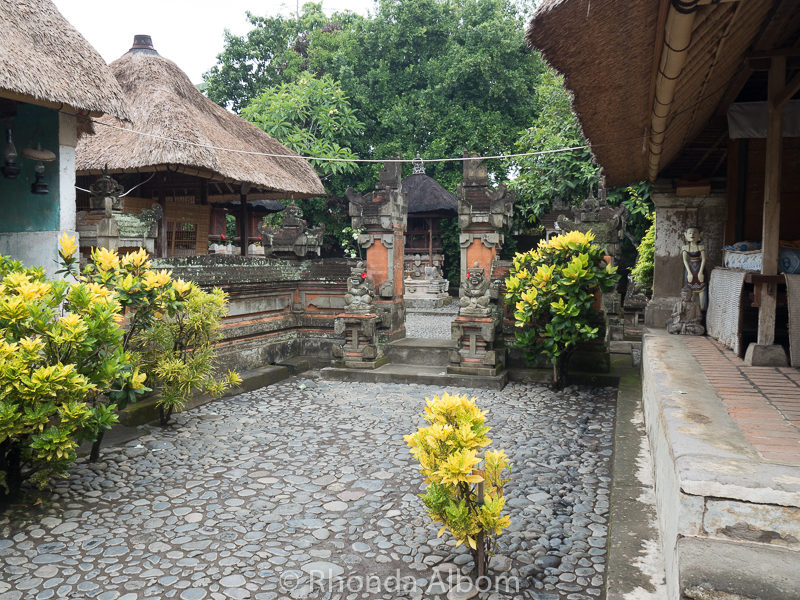 We also visited a traditional Balinese house complex that has at least four pavilions: for cooking, ceremony, sleeping and a family temple.