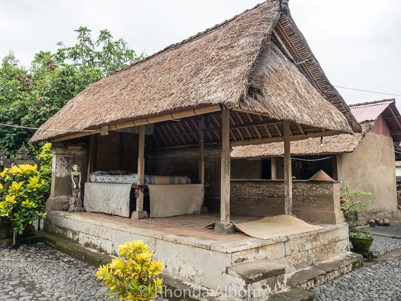 Tradional Balinese House