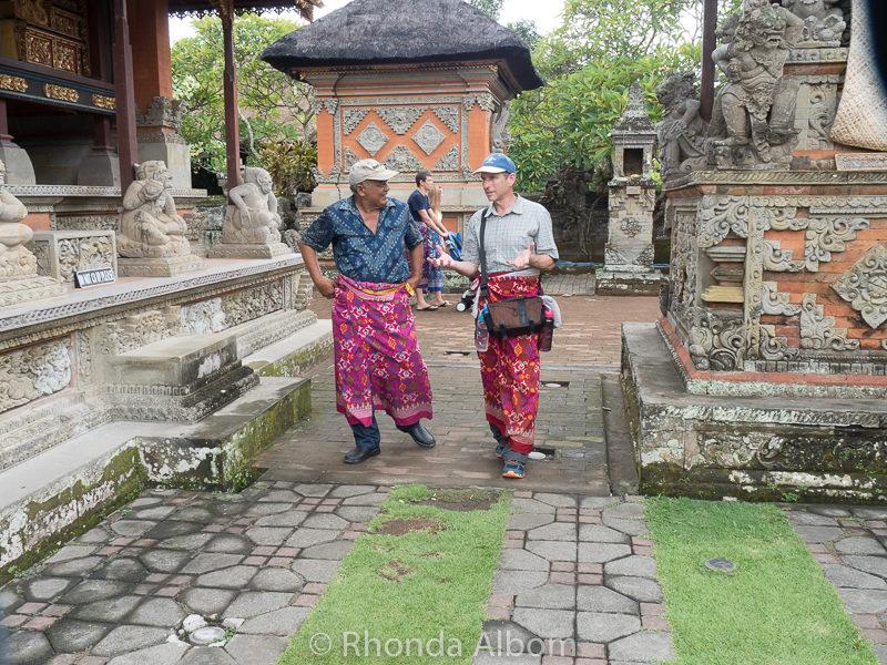 Batuan Temple in Bali, Indonesia