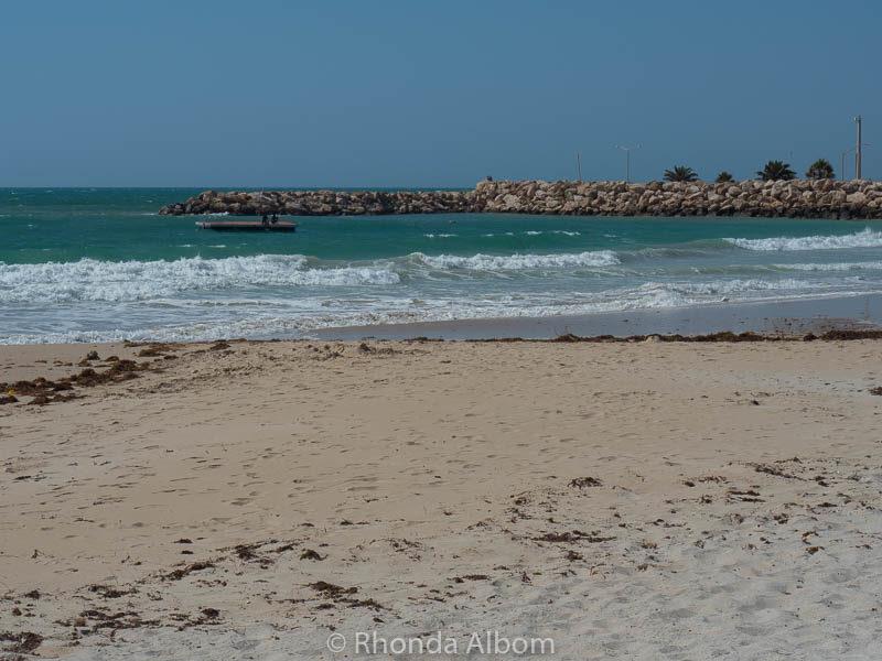 Beach in Geraldton Australia