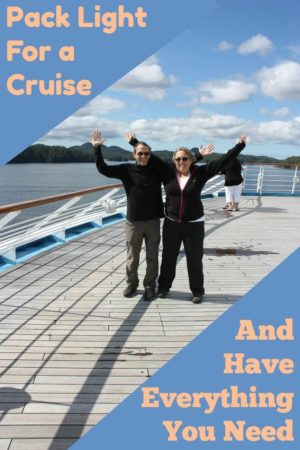 Cruising is great and you only have to unpack once. So why pack light? It makes it easier on travel days. It is possible to have everything you need. Read the article for the details.