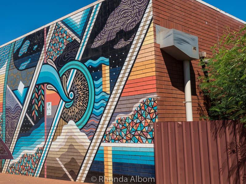 Street Art in Port Hedland, Australia
