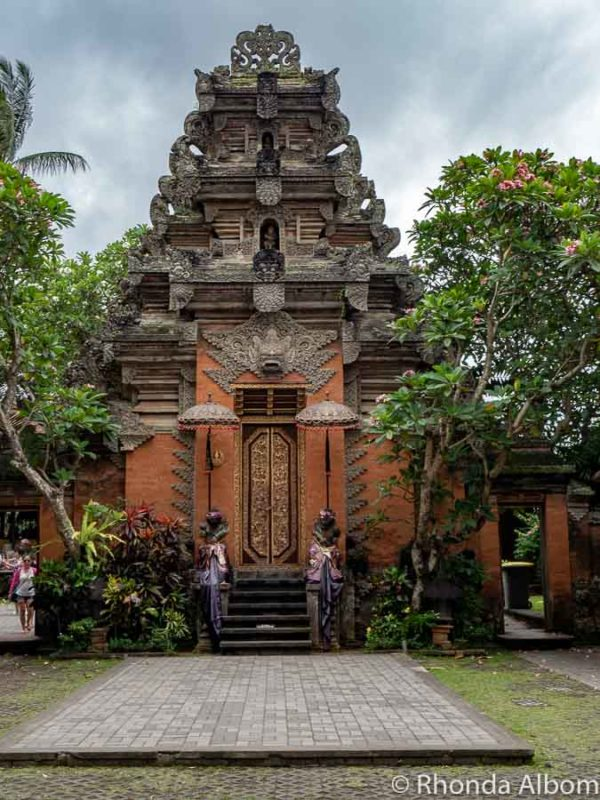 Puri Saren Agung is the Palace in Ubud Bali.