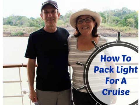 How to pack light using packing cubes