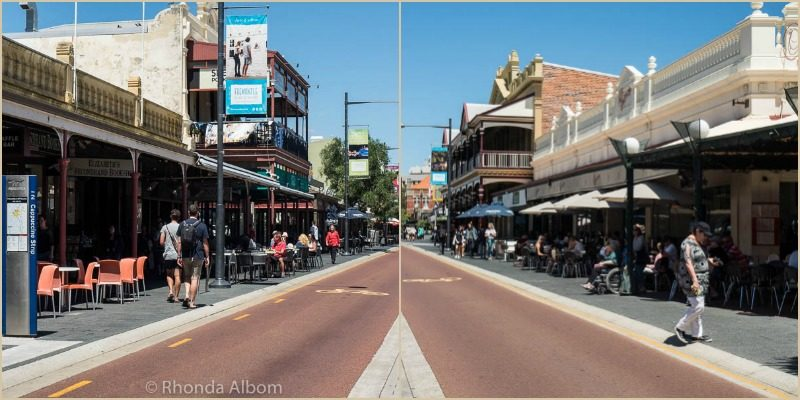Cappuccino Strip in Fremantle Australia