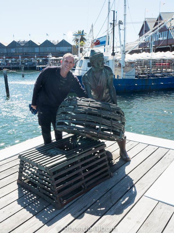Sculpture in Fremantle, Western Australia