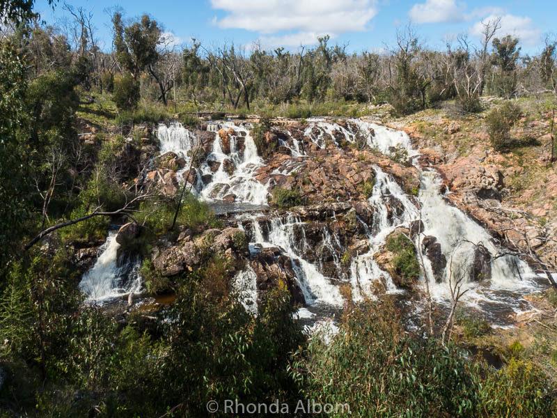 Broken Falls in the Grampians in Victoria Australia