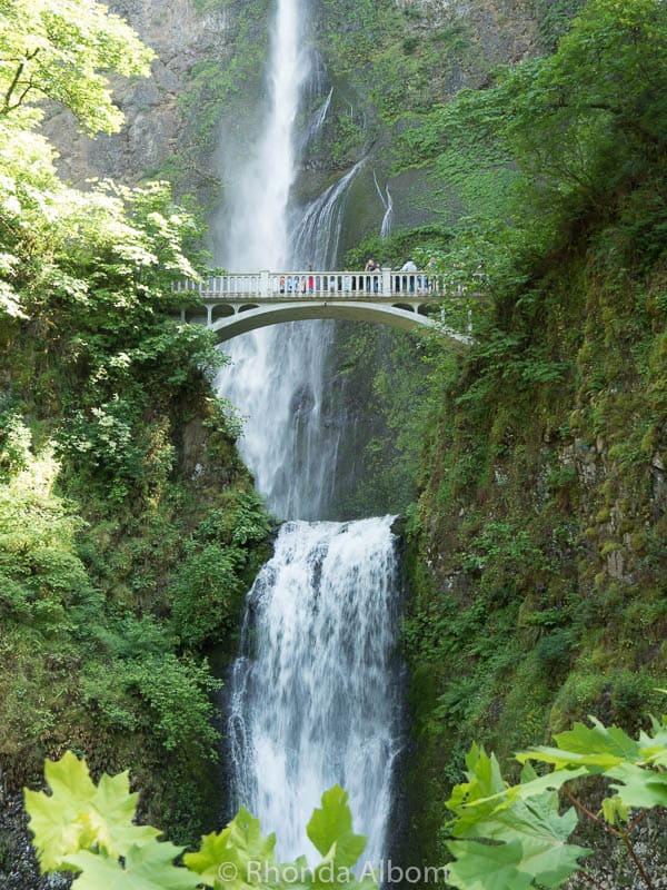 Multnomah falls, near Portland Oregon