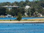 Cruising on the Swan River to Artistic Fremantle, Australia