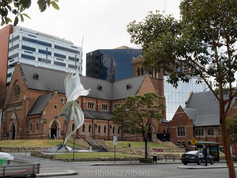 St. George Anglacan Cathedral in Perth, Western Australia