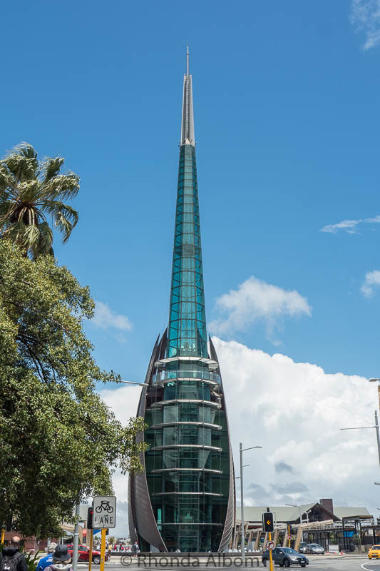 The bell tower in Perth