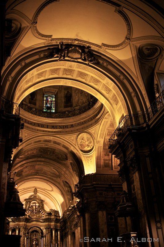 Catedral metropolitana, Buenos Aires, Argentina. Photo copyright ©Sarah Albom 2016