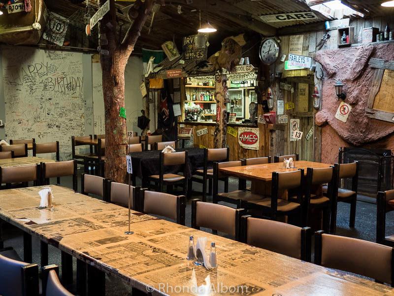 Alex's Pizza Outback Bar in Koroit, Australia