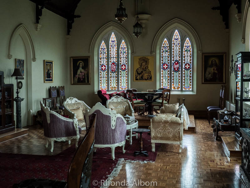 Old chapel in St Patrick's Luxury Botique Hotel in Korit, Australia