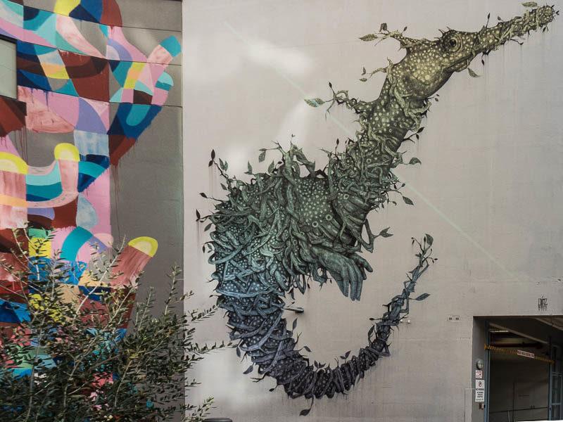 Street art in Perth, Western Australia