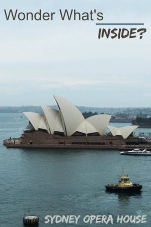 A collection of photos from a tour of the Sydney Opera House in Sydney Australia