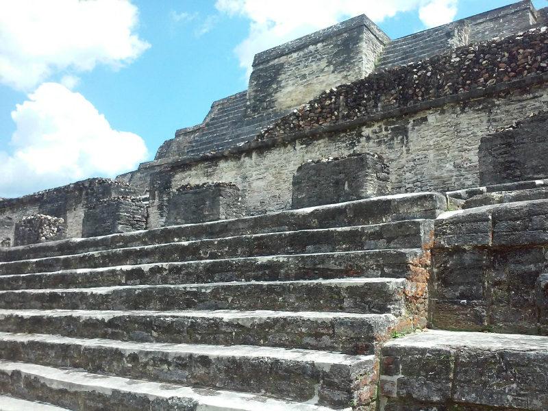 Mayan ruins of Xunantunich in Belize