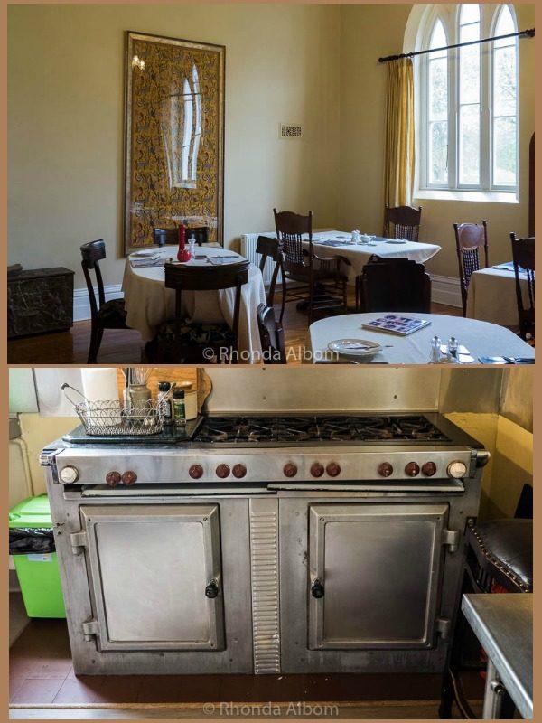 Kitchen in St Patrick's Luxury Botique Hotel in Korit, Australia
