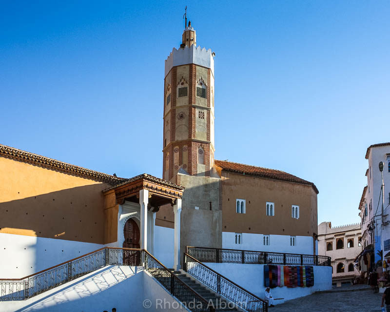Grand Mosque of Chefchaouen Morocco