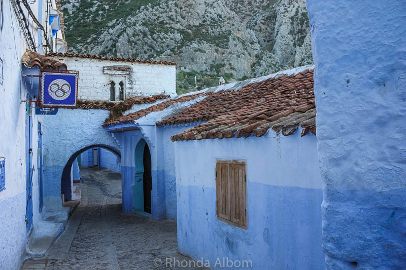 Chefchaouen, the Blue City in Morocco.