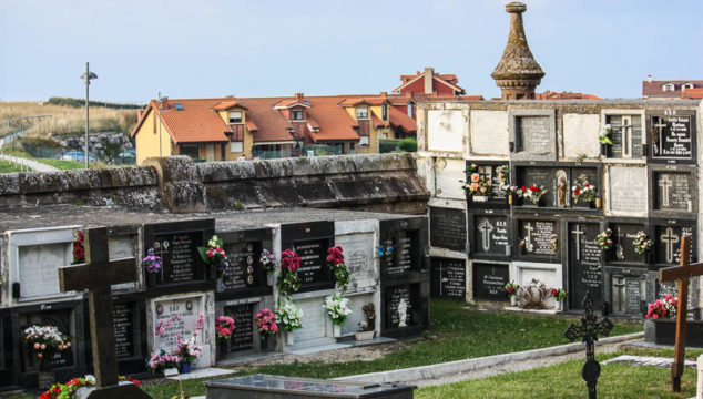 Cemetery of Comillas, Cantabria, Spain