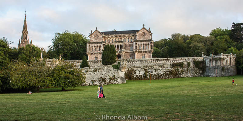 Palace of Sobrellano in Comillas, Spain