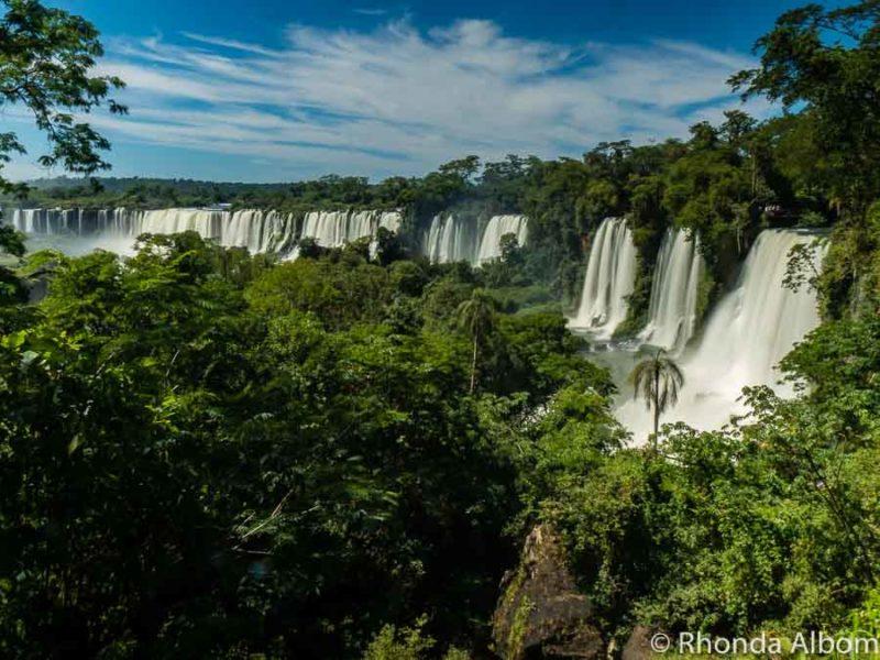 Iguazu Falls Park Argentina.