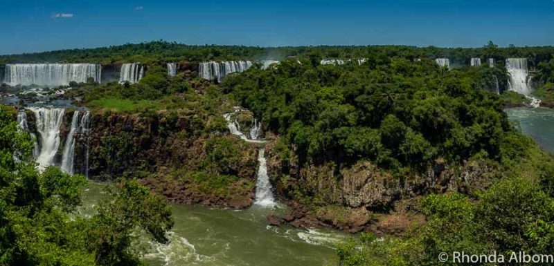 Visiting Iguazu Falls Park on the Brazil Side.