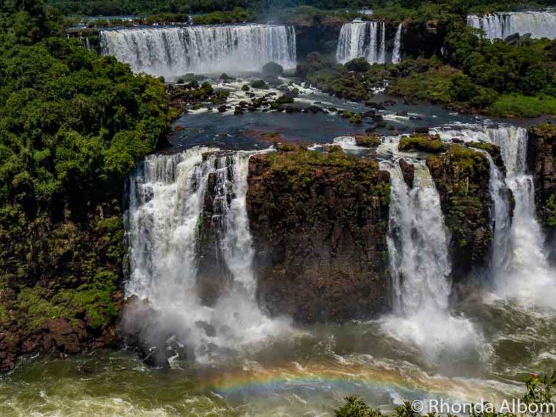Iguazu Falls Brazil.