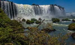Iguazu Falls Park on the Brazil Side.
