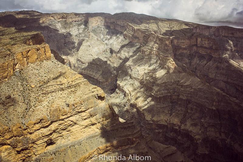 Jebel Shams - the Grand Canyon of Oman