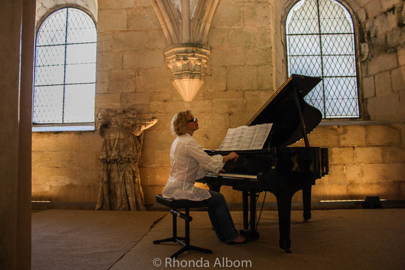 Music in the Monastery of Alcobaca Portugal