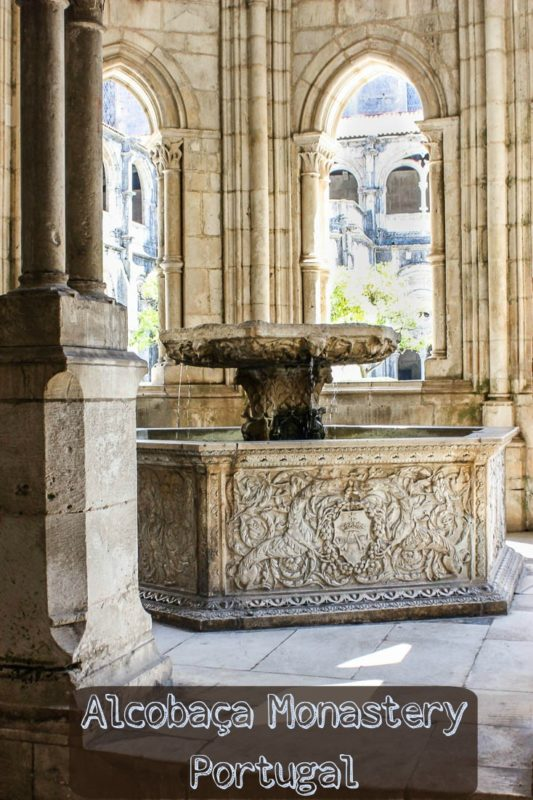 One of a collection of photos at the Monastery of Alcobaca Portugal