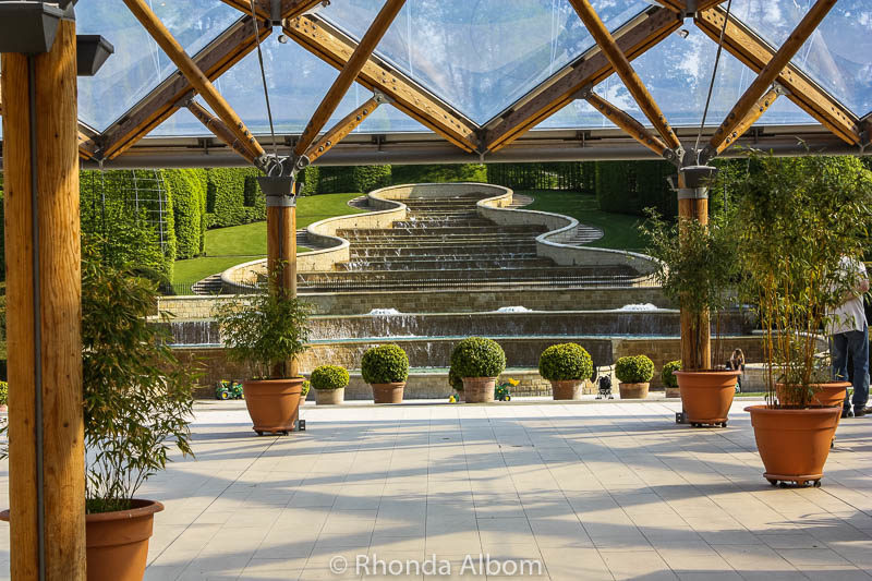 Alnwick Gardens in England