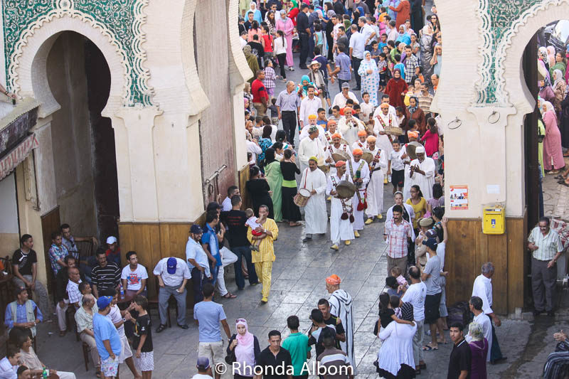 Moulay Idriss II festival in Fes, Morocco