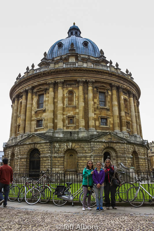 Radcliffe Camera in Oxford University, England