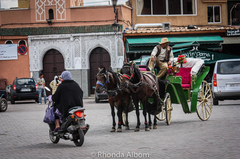Jemaa el Fna in Marrakesh Morocco