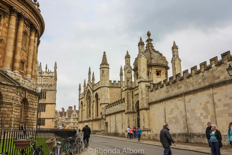 University of Oxford in England