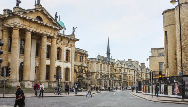 Classic Architecture of Oxford England