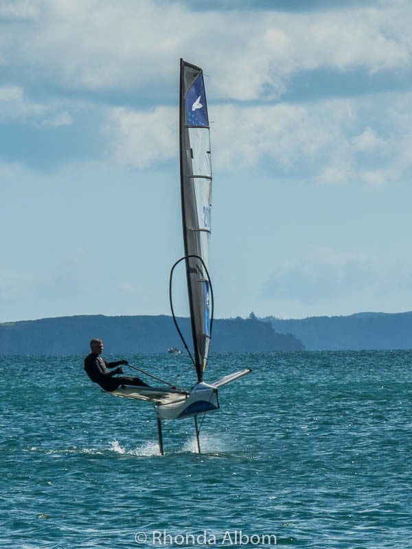 Flying boat in New Zealand