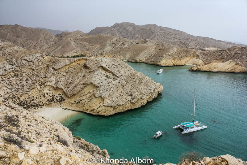 Coastline in Muscat Oman